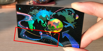 Hologram Laminate Patch with Optical Guilloche Anti-counterfeiting Technology