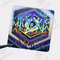 Holographic-sticker-with-Diffraction-Relief