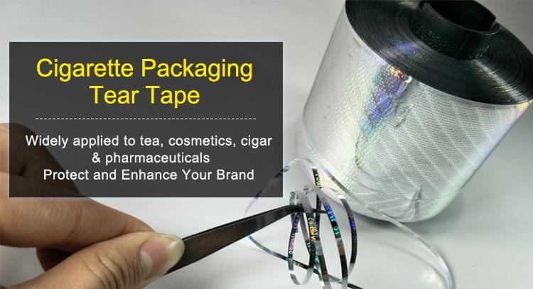 3.5mm BOPP Cigarette Packaging Tear Tape