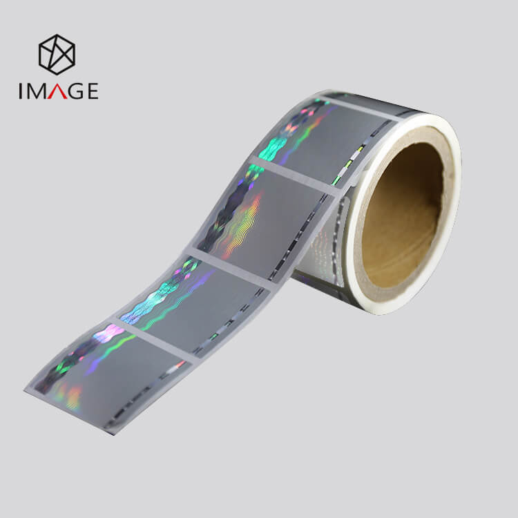 50mm printable hologram label in roll form
