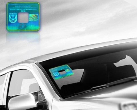 Car Windshield Sticker