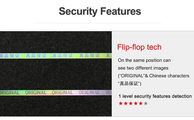 flip flop tear tape