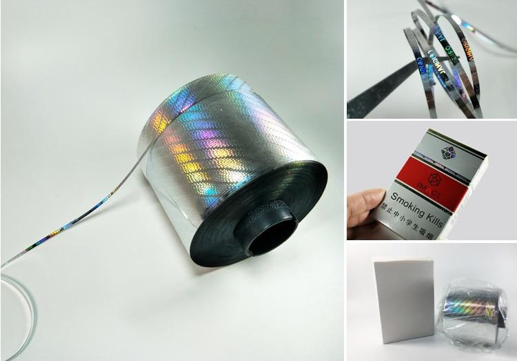 reel form single side self adhesive tear tape