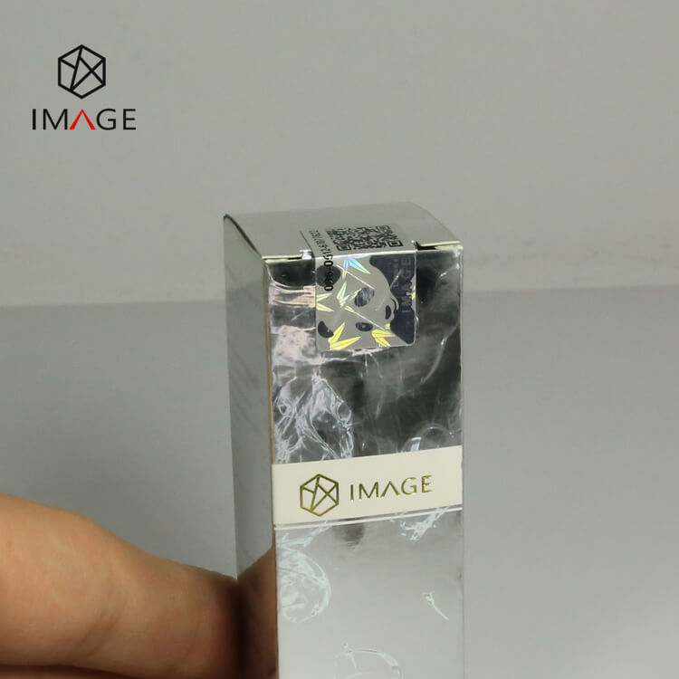 holographic tax stamp for cigarette box seal