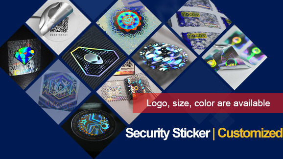 Holographic Stickers with Brand Logo for Security