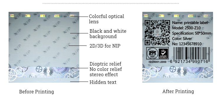 holographic barcode labels, they are printable