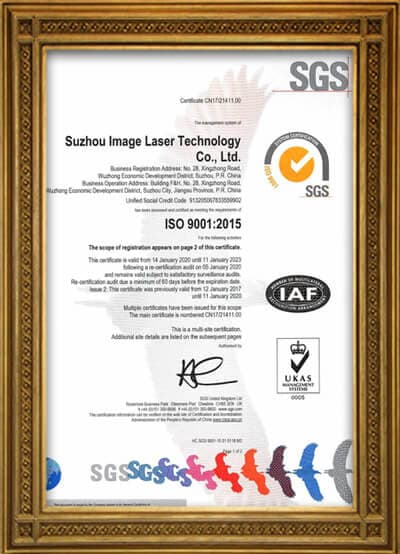 Adheres to ISO9001, quality management system