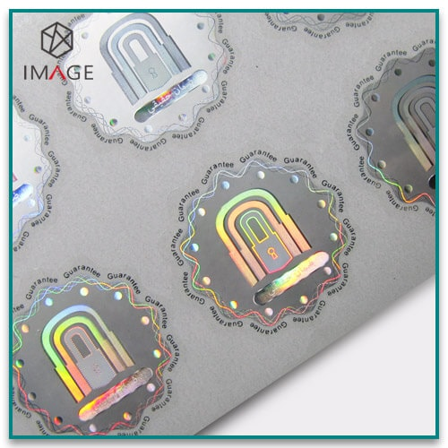Custom Hologram Stickers with High-quality De-metalized