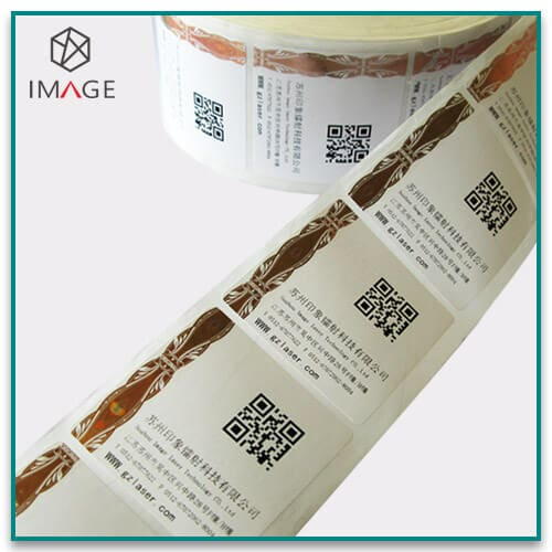 Hot Stamping Holographic Strips for Paper Label