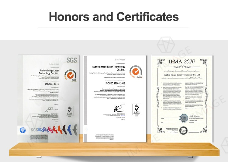 Certificates & Honors of ISO9001, ISO27001, IHMA 2020