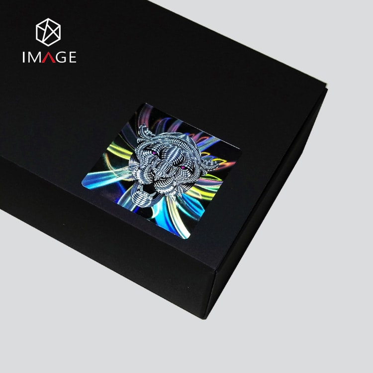 laser hologram anti-counterfeit sticker for eletronic pack box