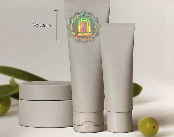 Cosmetic & Personal Care Hologram Packaging Sticker