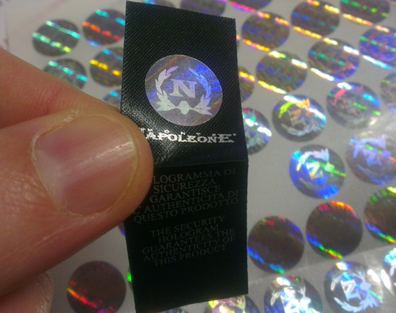 Hologram Sticker for Apparel Woven Label