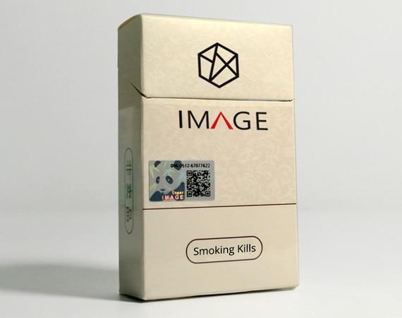 Hologram Tax Stamp Label for Cigarette Packaging