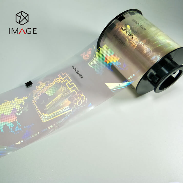 Roll Type Hologram Overlay Varnish Ribbon