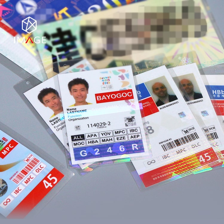 different sizes of holographic laminating pouches, protect your ids and certificates