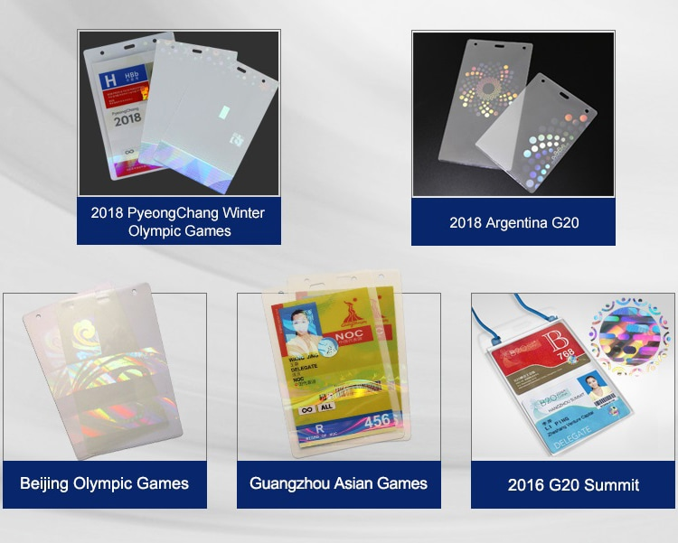 hologram laminate pouches for Olympic Games, Asian Games Projects