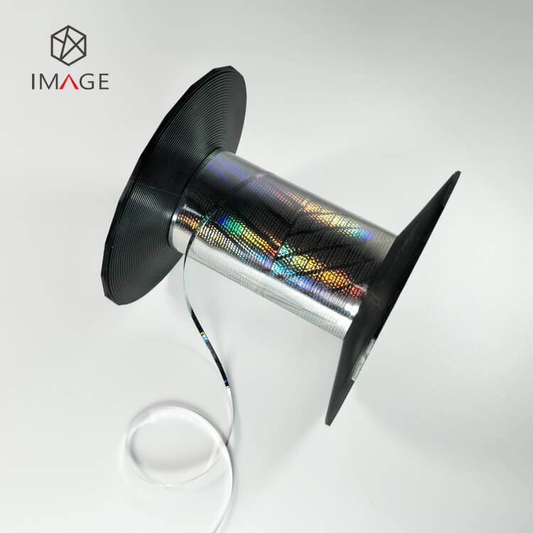 shiny 2mm hologram tear tape