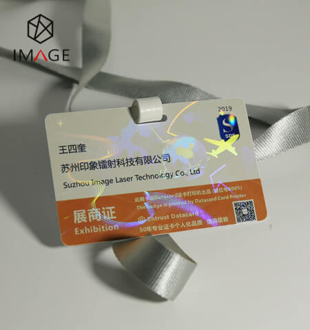 transparent holographic cold laminate overlay-for Pass IDs