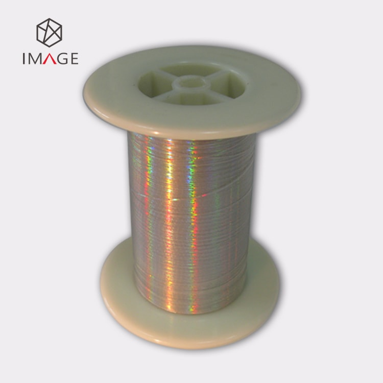 36 micron gold color holographic security thread