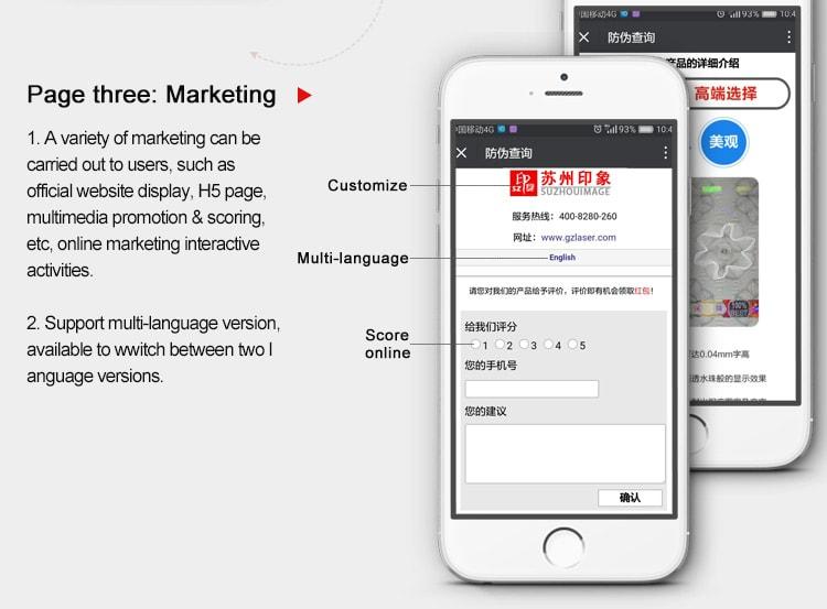 E Identification Marketing
