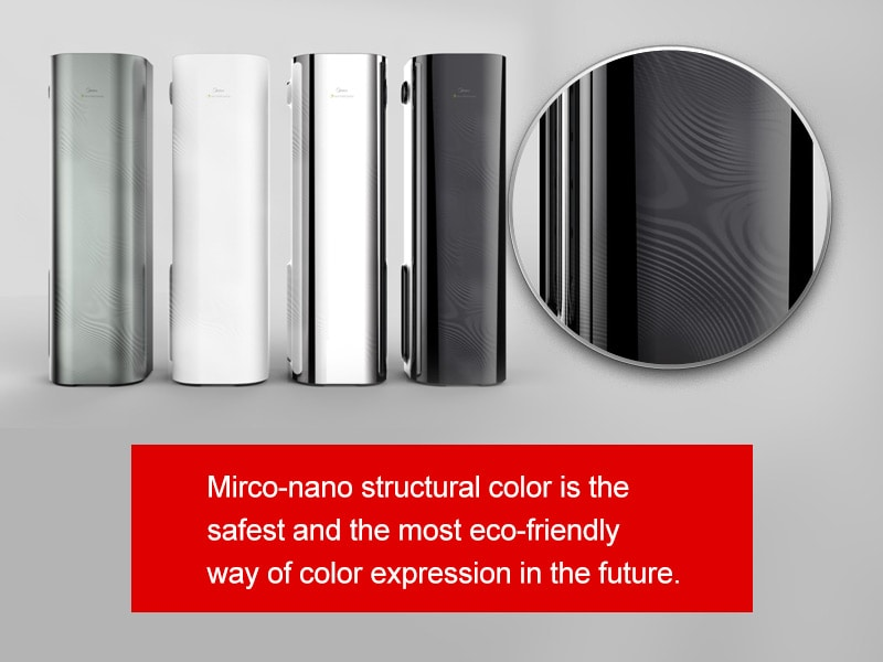 Mirco-nano structural color-the most secure and eco-friendly way of color expression