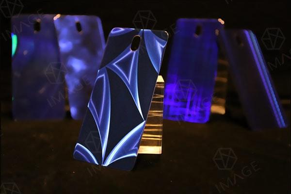 Diamond Slice Micro Structure Texture