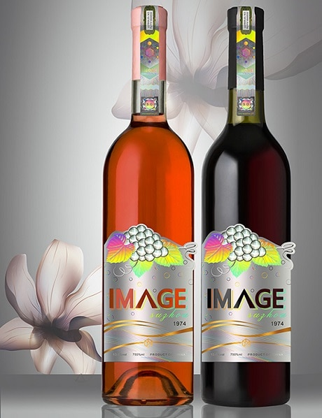IMAGE Hologram Label for Wine Bottle Packaging