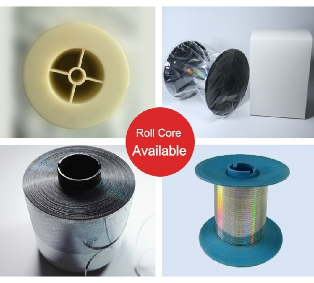 tear tape with different bobbin sizes