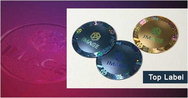 IMAGE logo precision luxury nameplate label