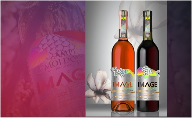 IMAGE series wine label