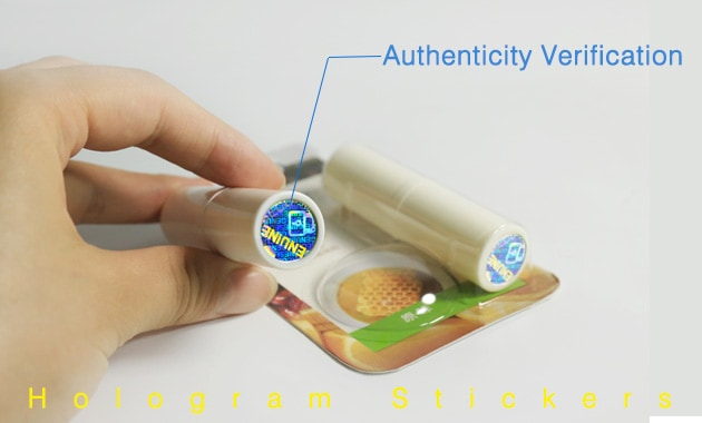 security hologram stickers for brand protection and verification
