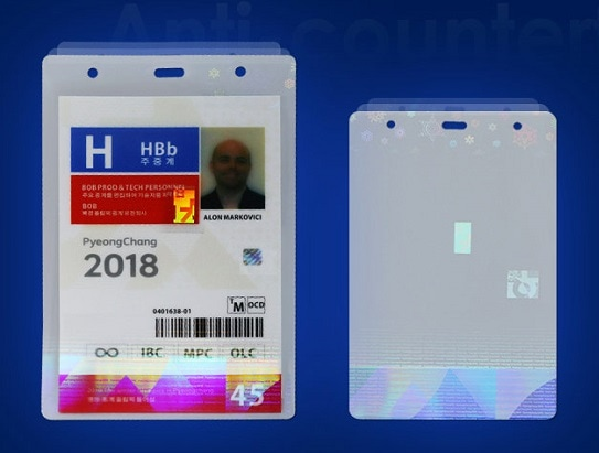 holographic laminating pouches for major events and larger activities