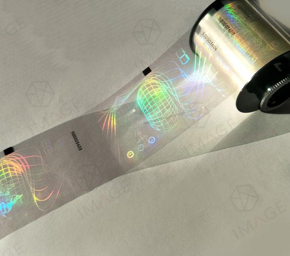 21um Card Type Thermal Transfer Hologram Overlay