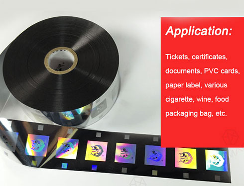 The Application Introduction of Hologram Hot Stamping