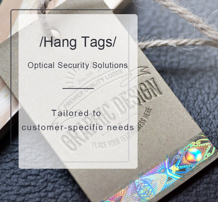 optical security solutions for hang tags